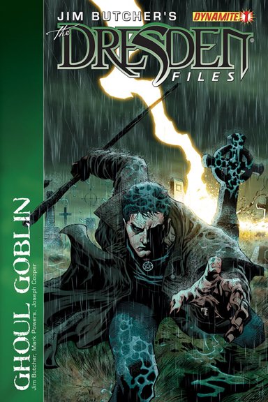 Jim Butcher's Dresden Files: Ghoul Goblin #1 cover by Ardian Syaf.