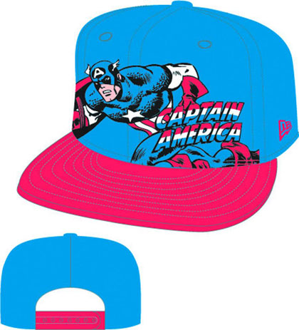 Hero Stance: Captain America snap back cap