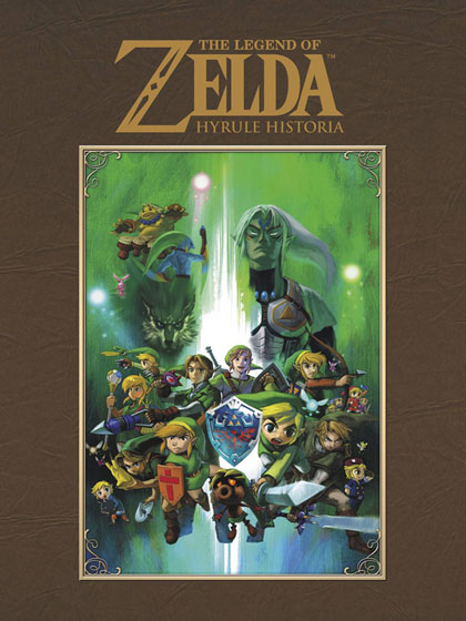 Legend of Zelda Hyrule Historia art book