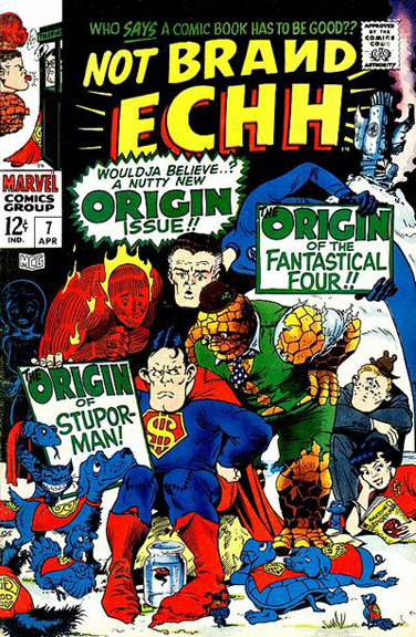 Not Brand Echh #7. Cover by Marie Severin.