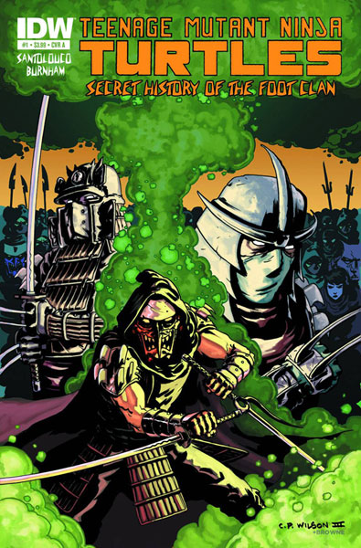 Teenage Mutant Ninja Turtles: Secret History of the Foot Clan #1
