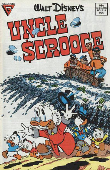 Uncle Scrooge #224. Art by Don Rosa.