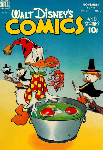 Walt Disney's Comics and Stories #98. Art by Walt Kelly.