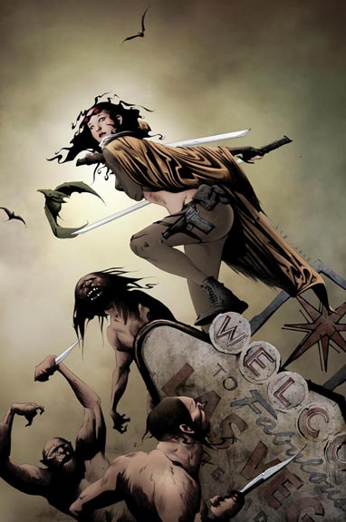 Devolution #1 cover by Jae Lee.