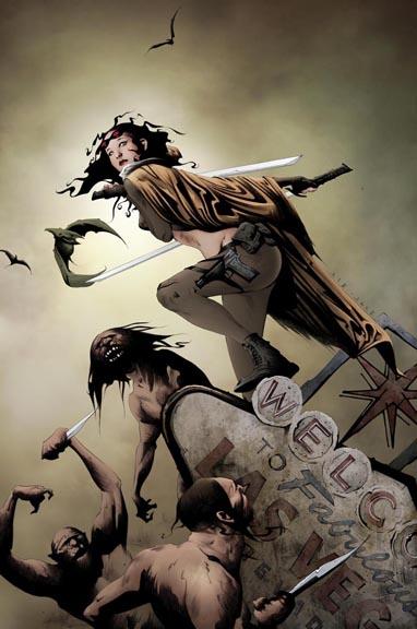 Devolution #1 cover by Jae Lee.