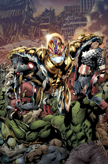 Age of Ultron #1 cover