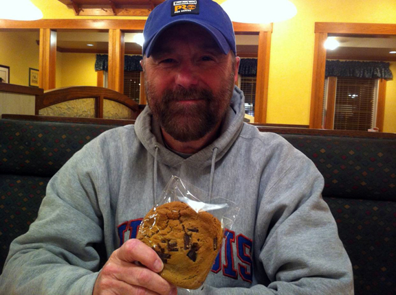 """I Made A Wish And Got A Cookie...A Very Big Cookie."" --Beau Smith"