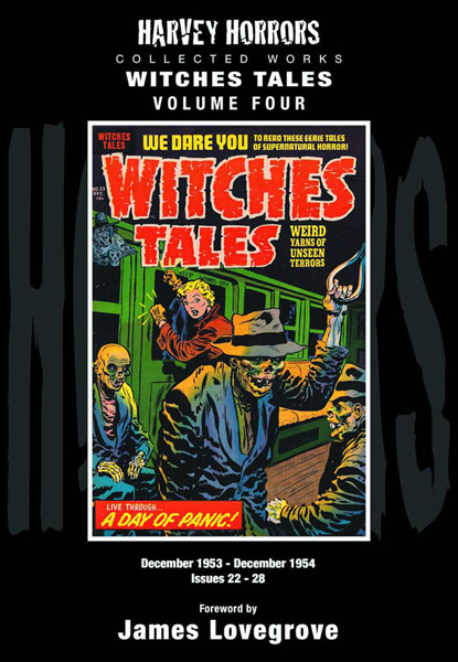 Harvey Horrors Collected Works: Witches Tales Volume 4