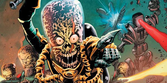 Mars Attacks! IDW Publishing  Buy Or Die!