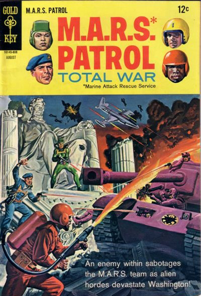M.A.R.S. Patrol: Total War