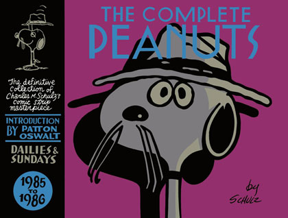 Complete Peanuts 1985-1986