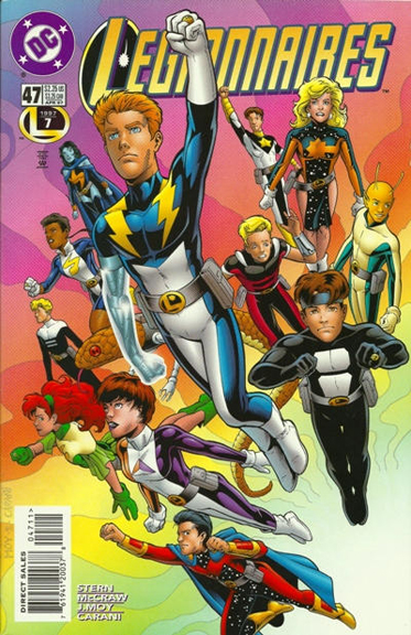 Legionnaires #47, one of the comics KC edited while at DC.