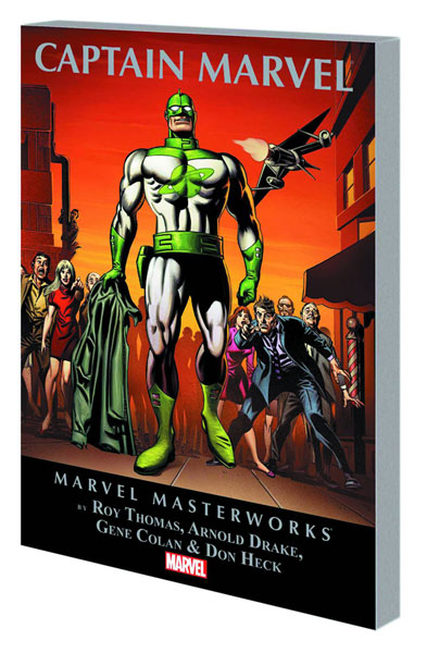 Marvel Masterworks: Captain Marvel Volume 1