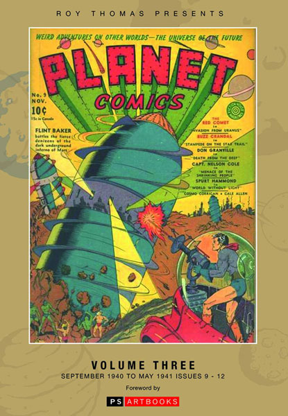 Roy Thomas Presents: Planet Comics