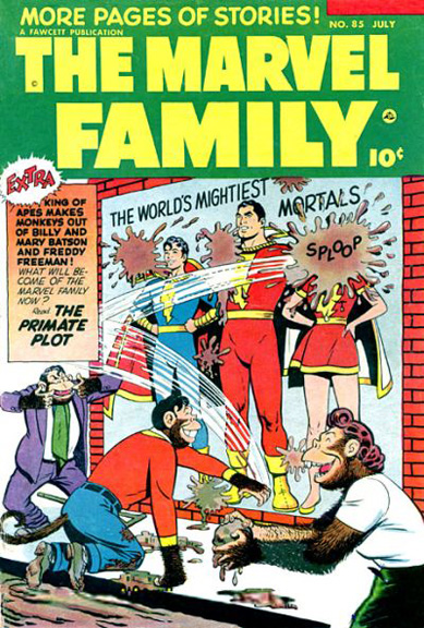 More classic Captain Marvel from The Marvel Family #85.