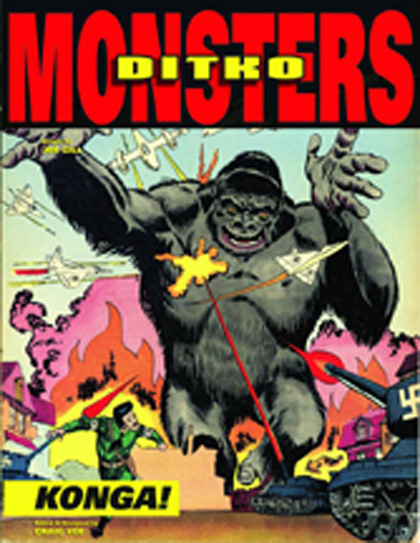 Steve Ditko's Monsters Volume 2: Konga