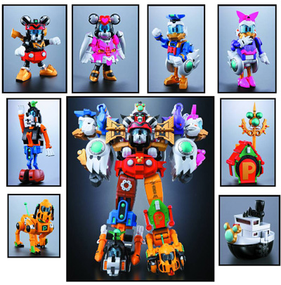Cho Gattai King Robo Mickey & Friends Chogokin figure