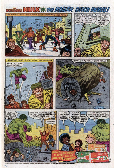 Hulk like fruit pies! A classic Hostess ad.