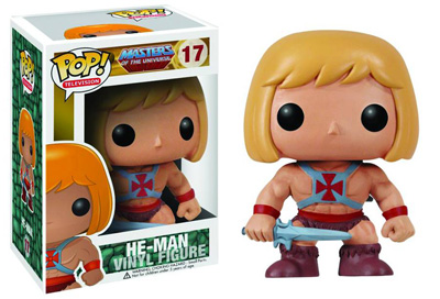 Masters of the Universe Pop! Vinyl He-Man