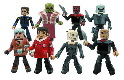 Star Trek Legacy Minimates Series 1 assortment