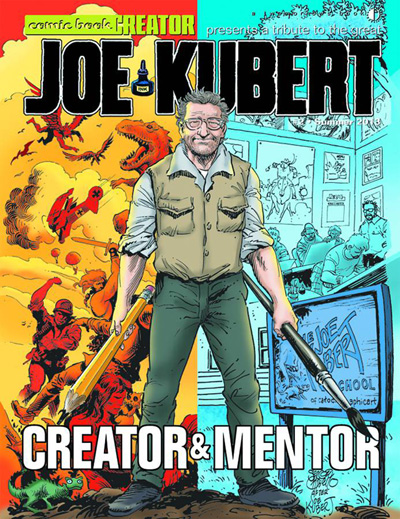 Comic Book Creator #2: Joe Kubert: A Tribute to the Creator and Mentor
