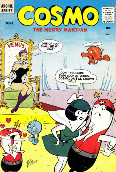 Cosmo the Merry Martian #4