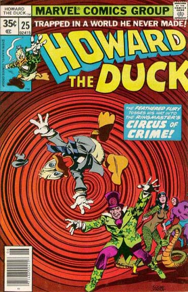 Howard the Duck #25, the issue that hooked me on Howard.