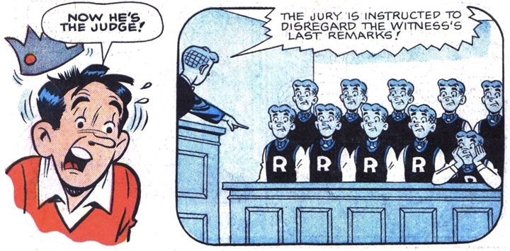 Archie, The Jury from Life With Archie #21.