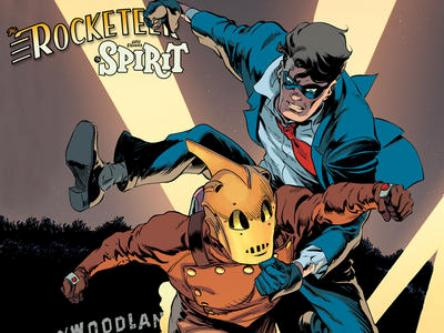 This July's Rocketeer/Spirit Mini-Series from IDW!