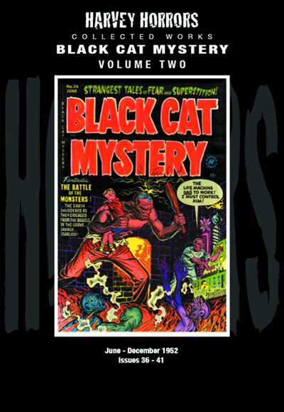 Harvey Horrors Collected Works: Black Cat Mystery