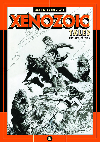 Mark Schultz's Xenozoic Tales Artist Edition