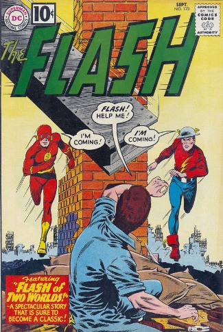 R.I.P. Carmine Infantino Flash #123 (1961)