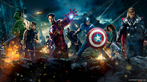 Marvel's movie Avengers