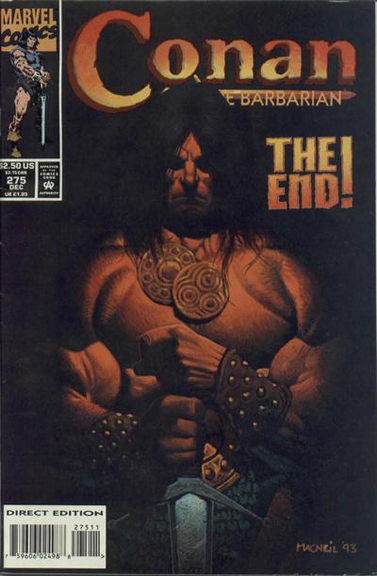 Conan the Barbarian #275, the final issue