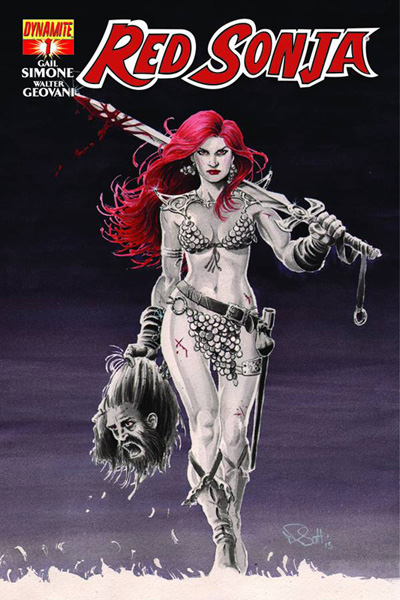 Red Sonja #1 Nicola Scott cover