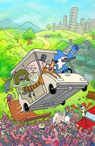Boom Studios' The Regular Show #1
