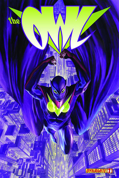 The Owl #1 Alex Ross cover