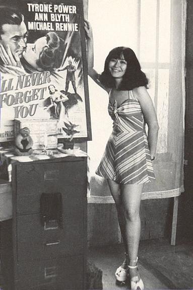 Flo Steinberg in 1975