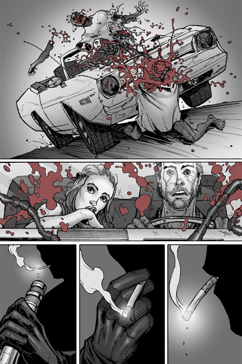 The Mocking Dead #1 preview page 2