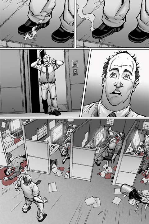 The Mocking Dead #1 preview page 3