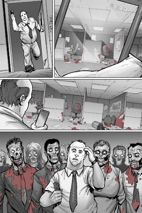 The Mocking Dead #1 preview page 4