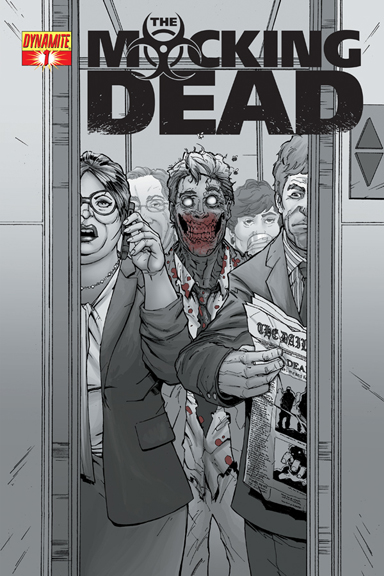 The Mocking Dead #1 Max Dunbar cover