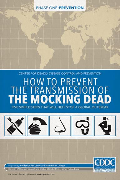 The Mocking Dead #1 cover by Bill Tortolini