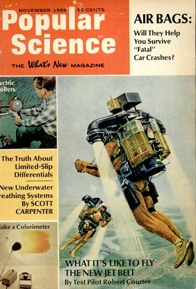 "Popular Science.  ""Where's MY Jet Pack?"""