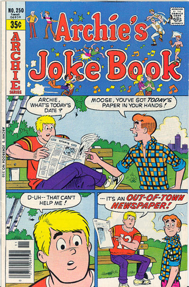 Archie's Joke Book #250