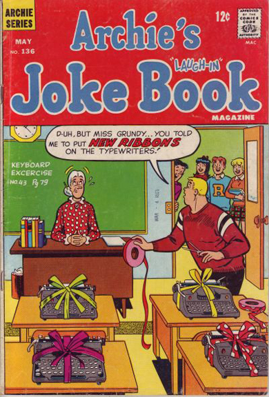 Archie's Joke Book #136