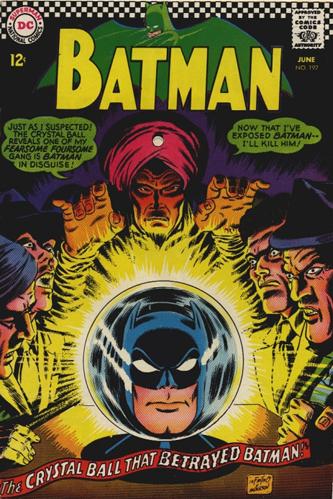 """The Comic Book Crystal Ball Betrays Us All, Batman!"""