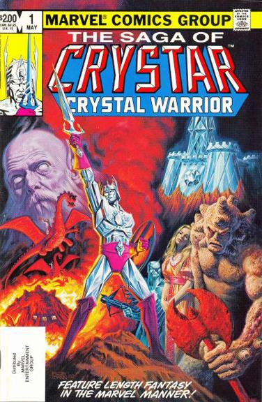 Saga of Crystar, Crystal Warrior #1