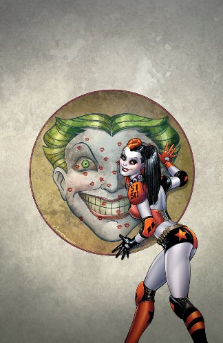 Harley Quinn #0 Cover Art By Amanda Conner