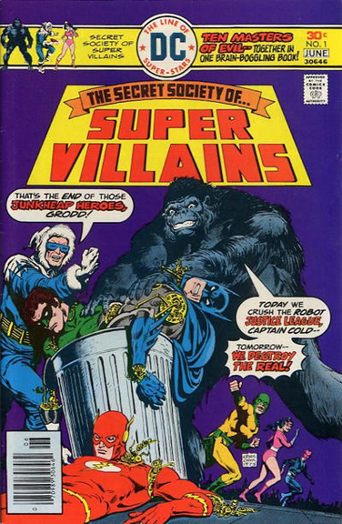 Secret Society of Super-Villains #1
